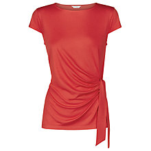Buy Kaliko Side Tie Top, Bright Red Online at johnlewis.com