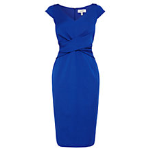 Buy Coast Matena Shift Dress, Cobalt Blue Online at johnlewis.com