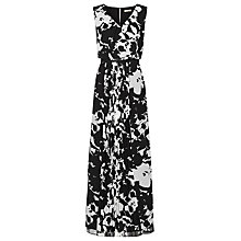 Buy Planet Print Maxi Dress, Black Multi Online at johnlewis.com