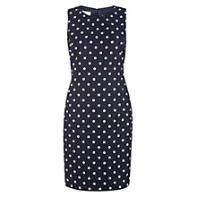 Buy Hobbs Orkney Shift Dress, Navy Online at johnlewis.com