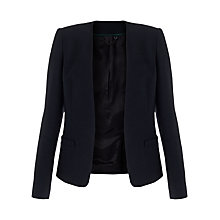 Buy Jigsaw Edge To Edge Jacket, Navy Online at johnlewis.com