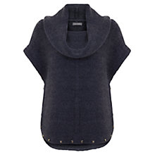 Buy Mint Velvet Stud Tabard Jumper, Navy Online at johnlewis.com