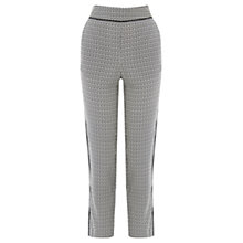 Buy Oasis 70s Geo Side Stripe Trousers, Multi Online at johnlewis.com
