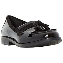 Buy Dune Goosie Patent Fringe Loafers Online at johnlewis.com