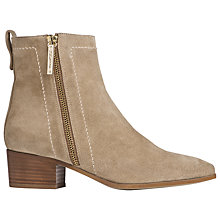 Buy L.K. Bennett Fenick Suede Ankle Boots Online at johnlewis.com