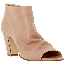 Buy Dune Caitlen Slouched Leather Ankle Shoe Boots Online at johnlewis.com