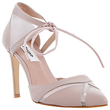 Buy Dune Cosete Lace Up Court Shoes Online at johnlewis.com