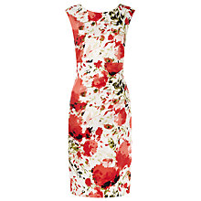 Buy Kaliko Printed Shift Dress, Red Multi Online at johnlewis.com