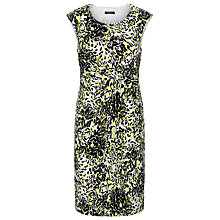 Buy Precis Petite Angular Floral Dress, Multi Black Online at johnlewis.com