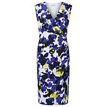 Buy Planet Print Dress, Mid Purple Online at johnlewis.com
