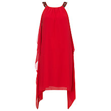 Buy Phase Eight Delfina Dress, Scarlet Online at johnlewis.com