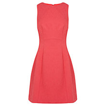 Buy Coast Betsie Jacquard Dress, Pink Online at johnlewis.com