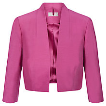 Buy Planet Mid Bolero Jacket, Pink Online at johnlewis.com