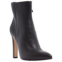 Buy Dune Black Ora Leather High Heel Ankle Boots Online at johnlewis.com