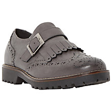 Buy Dune Black Felton Leather Brogues Online at johnlewis.com