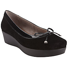 Buy John Lewis Hilary Wedge Heeled Ballerina Pumps Online at johnlewis.com