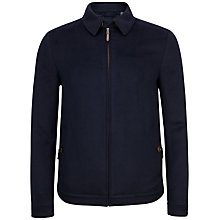 Buy Ted Baker Maxwell Drawn Wool Harrington Jacket Online at johnlewis.com