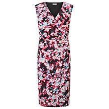Buy Planet Peony Print Dress, Multi Pink Online at johnlewis.com