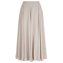 Buy Jacques Vert Chiffon Panel Skirt, Mid Neutral Online at johnlewis.com
