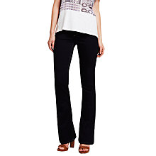 Buy Mint Velvet Tampa Flare Jeans, Blue Online at johnlewis.com