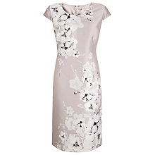 Buy Jacques Vert Orchid Placement Dress, Mid Neutral Online at johnlewis.com