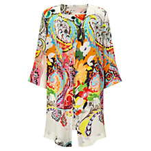Buy East Nico Print Silk Kimono, Calico Online at johnlewis.com