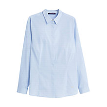Buy Violeta by Mango Striped Shirt, Light Pastel Blue Online at johnlewis.com