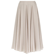 Buy Jacques Vert Petite Chiffon Skirt, Mid Neutral Online at johnlewis.com