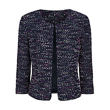 Buy Precis Petite Boucle Jacket, Multi Blue Online at johnlewis.com