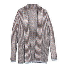 Buy Violeta by Mango Metallic Detail Cardigan, Brown Online at johnlewis.com