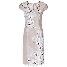Buy Jacques Vert Petite Orchid Placement Dress, Neutral Online at johnlewis.com