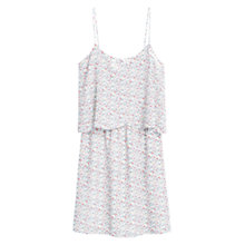 Buy Mango Floral Print Dress, Natural White Online at johnlewis.com