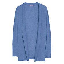 Buy Violeta by Mango Ribbed Cardigan, Bright Blue Online at johnlewis.com