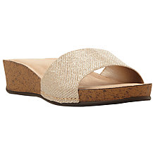 Buy Dune Kimberlin Slip On Wedge Heeled Sandals Online at johnlewis.com