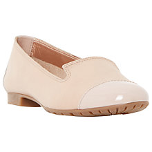 Buy Dune Genevieve Leather Ballerina Pumps Online at johnlewis.com