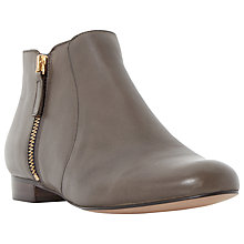 Buy Dune Pandas Ankle Boots, Taupe Online at johnlewis.com