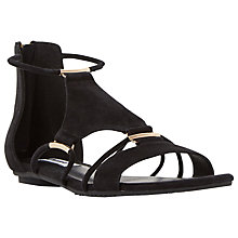 Buy Dune Laik Strappy Flat Sandals Online at johnlewis.com