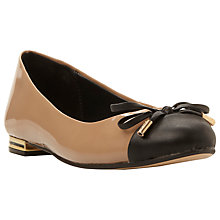 Buy Dune Hyla Bow Detail Ballerina Pumps Online at johnlewis.com