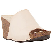 Buy Dune Kimba Slip On Wedge Heeled Sandals Online at johnlewis.com