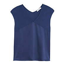 Buy Mango V-Neck T-Shirt Online at johnlewis.com