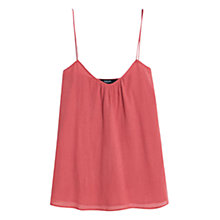 Buy Mango Cotton Textured Top Online at johnlewis.com