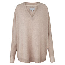 Buy Jigsaw Slouchy Sweater, Oatmeal Online at johnlewis.com