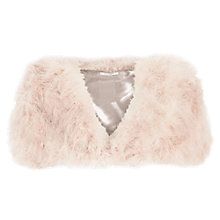 Buy Kaliko Neu Marabou Feather Stole, Champagne Online at johnlewis.com