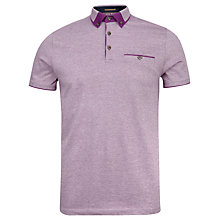 Buy Ted Baker Taytay Block Colour Oxford Polo Shirt Online at johnlewis.com