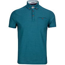 Buy Ted Baker Tipytoe Geo Textured Polo Shirt Online at johnlewis.com