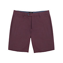 Buy Ted Baker Tinsho Textured Cotton Shorts Online at johnlewis.com
