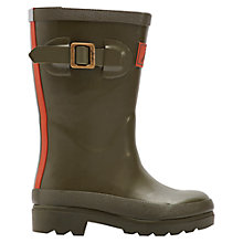 Buy Little Joule Field Fennel Wellington Boots, Khaki Online at johnlewis.com