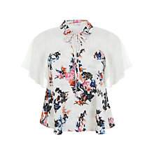 Buy Miss Selfridge Assorted Keyhole Angel Blouse, Assorted Online at johnlewis.com