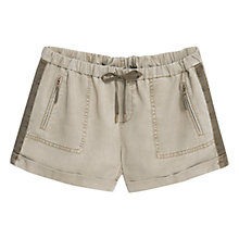 Buy Mango Soft Shorts, Beige/Khaki Online at johnlewis.com