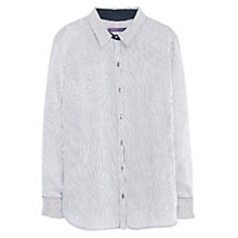 Buy Violeta by Mango Stripe Print Blouse, Black Online at johnlewis.com